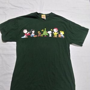 Peanuts A Charlie Brown Christmas T-Shirt Medium